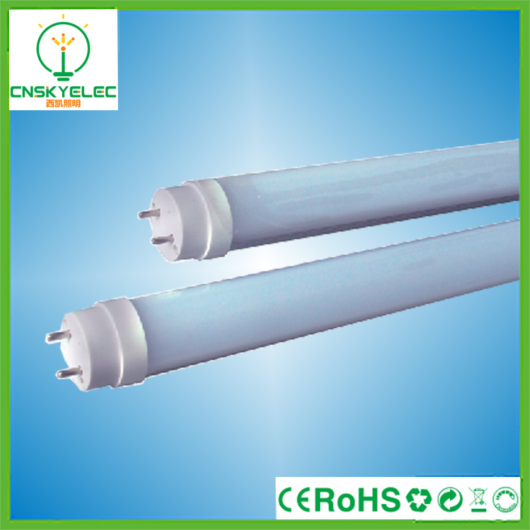 SKY LIGHTING 360 degree t8 led light tube t8 glass 18W,smd2835 t8 led tube light t8,led t8 tube light Discount Free Inspection