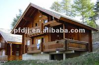 Durable Beautiful Prefabricated wooden log cabin