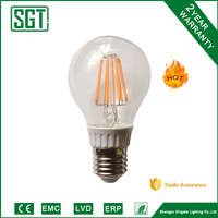 popular LED A60 Bulb, filament lamp E27 IC driver
