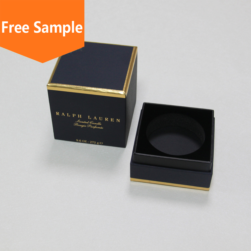 Luxury design custom empty paper perfume gift boxes