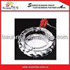 Custom Crystal Glass Ashtray, Round Promotional Glass Ashtray