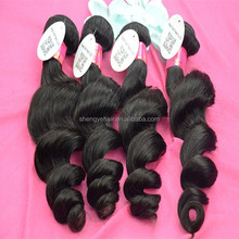 Angelbella Natural Look Cheap Human Hair Weave Unprocessed Curly Extensions Virgin Russian Hair