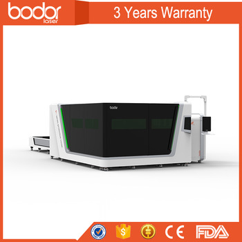 China Bodor high power ss sheet fiber laser cutting machine used protective cover
