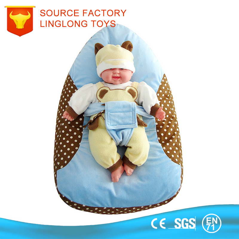 TUV Certificate Factory Adult Baby Furniture Stuffed Toy Display Stand foam particle sofa Baby Travel Bed