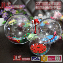 clear hollow plastic sphere Decoration Christmas Item ball