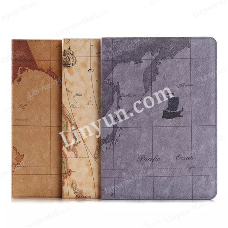 for iPad air2 leather flip case with card slot , for ipad air 2 back cover , PU leather tablet cases