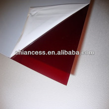 Red bayer Polycarbonate PC Solid Sheet/plastic board/endurance plate