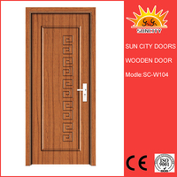 SC-W104 Best Quality Cheapest Price Interior Door Designs 2016,Wooden Main Door Design