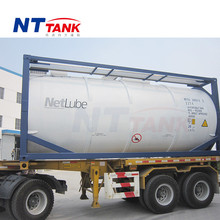 Stainless steel sea shipping liquid transportation 20000L container