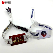Music festival identification woven rfid wristband