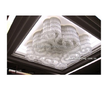 Modern large hotel lobby decorative luxury crystal ceiling lighting