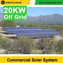off grid 20kw residential solar energy systems with battery storage