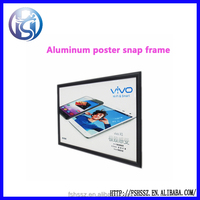 Wall Mounted Aluminum Snap Frame for Poster Display HS-K2