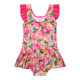 Custom little girls swimwear swimsuit