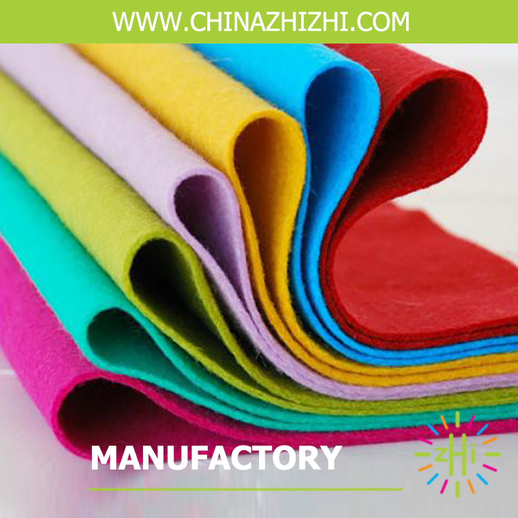 fabric felt 100% polyester felt nonwoven felt wholesale on alibaba