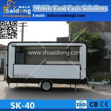 Factory Supply Cheap New Applicable Perfect Design Fruit Mobile bakery food cart/Milk Vending Truck /Hot Dog Chorrus Vans