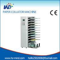Professional supplier Digital Collator 10 Station 12 station Digital paper Collating Machine