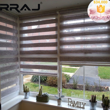 RRAJ Modern Decoration Mechanical Electric Motorized Roller Shade and Blinds