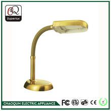 Top quality custom cheap popular office brass gold table lamp