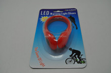 Reflective bicycle warn light and outdoor bike trousers clip
