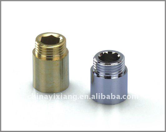 Forged Brass Male and Female Nipple Chrome Plated Brass Extension Nipple