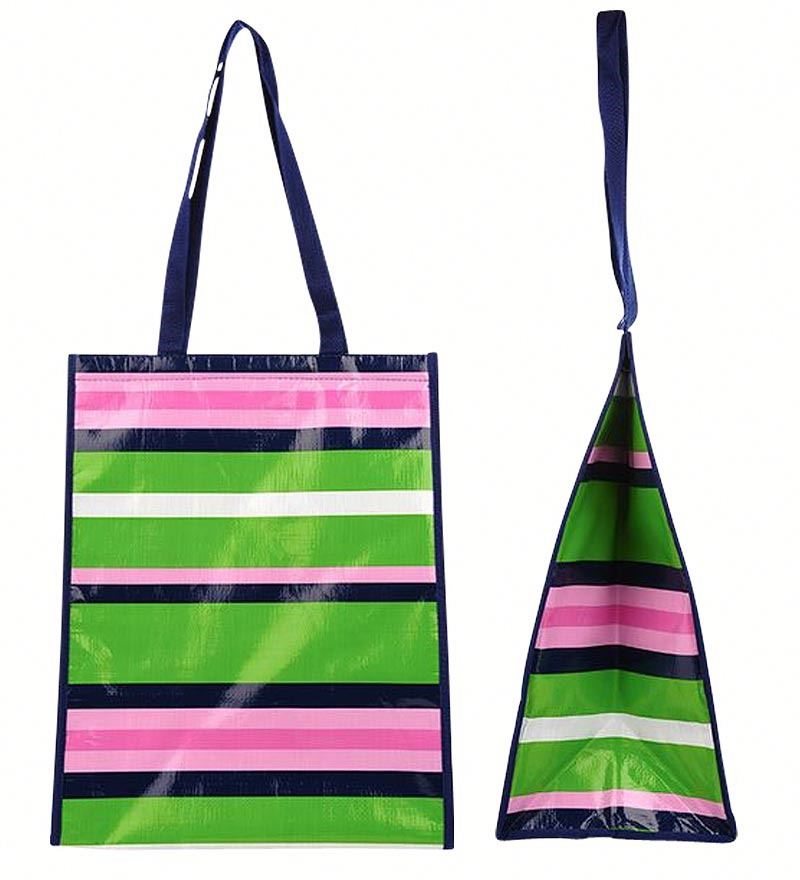 Promotional Cheap Customized Foldable Laminated Eco Fabric Tote Non-woven Shopping Bag, Recyclable PP Non Woven Bag