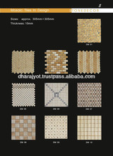 Square Shape Mosaic Pattern