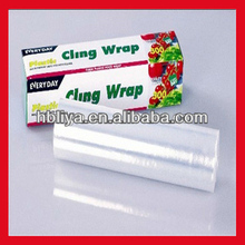 Hot sell static cling film/ food film/ pe protective film