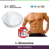 Chinese manufacturer nutrition supplement high quality food additive Food grade L-Glutamine