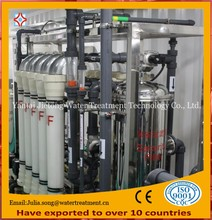 Electrolyzed mineral water purification plant
