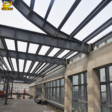 Pre engineering portable steel structures 1000 sqm warehouse