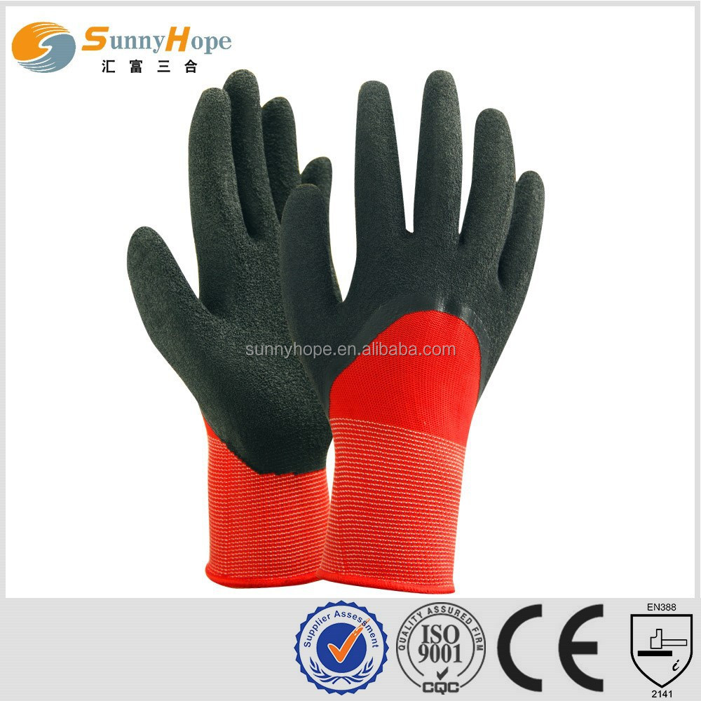 13 Gauge string knit workwear gloves