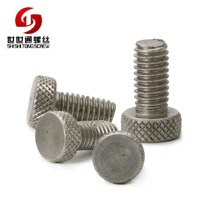 High Quality Custom Made Stainless Steel Ball Thumb Bolt Round Head Bolt