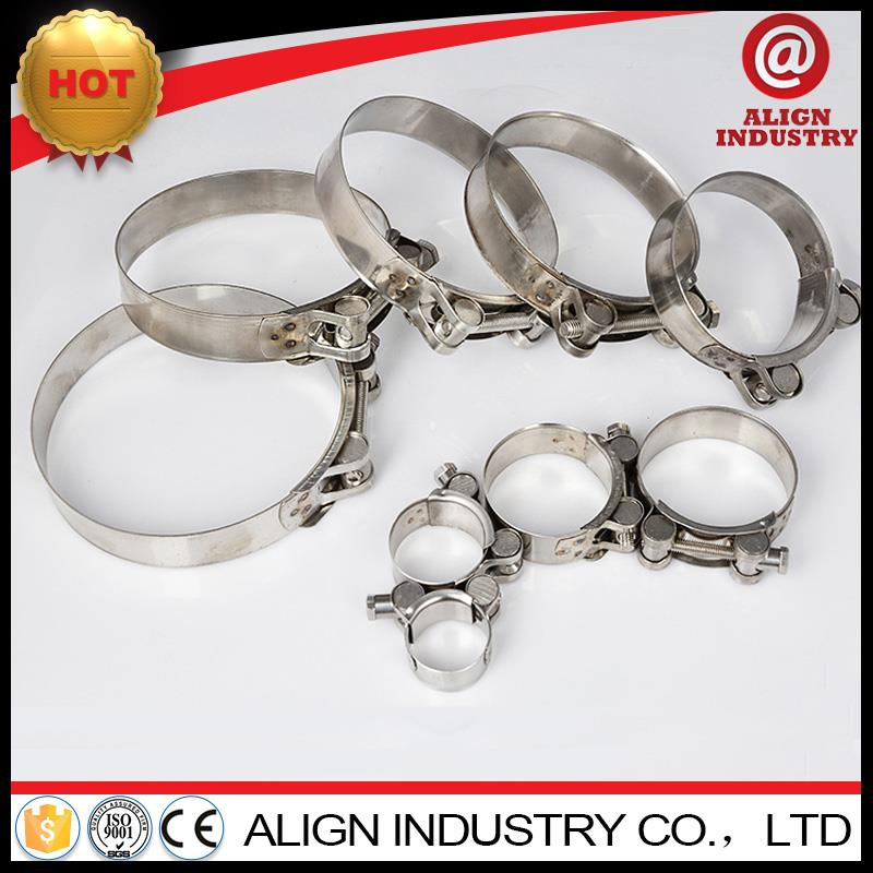Hot selling heavy duty clip womm drive corrugated pipe hose clamps all stainless steel heavy duty hose clamp
