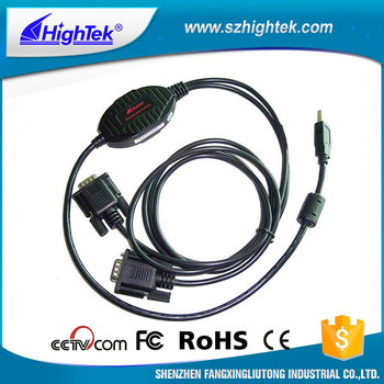 HighTek HK-5202A USB to RS-232 Commercial interface converter cable