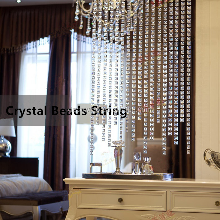 Customized Crystal High Quality Beads String
