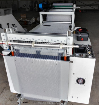Air Bubble Film sheeting machine packing material cut to length line