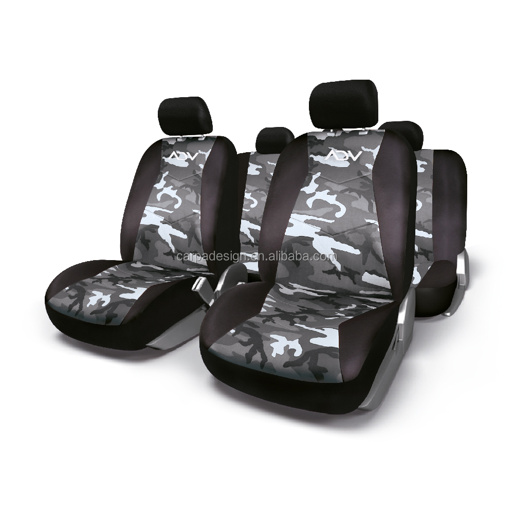 ADV1428GCW Car Seat Cover 100% Polyester Camouflage