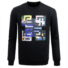Fashion new arrival black long sleeve 100% cotton warm xxxl hoodies for men from China D018
