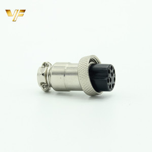 Hote sell GX16 gx12 connector male and female industrial plug and socket