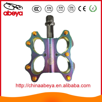Colorful AL6061 CNC Machined Bicycle Pedal