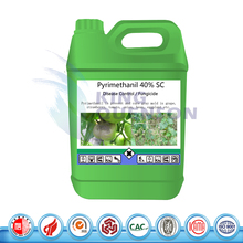 High Quality Disease Control Supplier Pyrimethanil 40% SC Liquid Fungicide