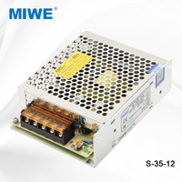Hotsale 35W single output 12 volt 3amp dc switching power supply in China S-35-12