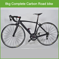 2016 Chinese light weight full suspension Racing bicycles 22 speeds carbon fiber 8kg 700C full carbon bicycle road