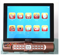 Portable TV screen with usb sd card slot 12 inches tft lcd color mini lcd tv