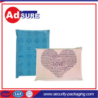 self seal packaging/polybag with zip/design your own plastic bag