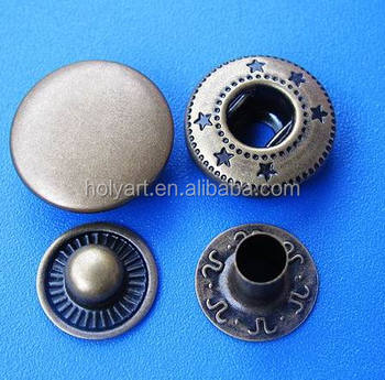 hot sale new fashion four parts snap button