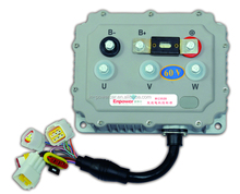 Electric car driving controller