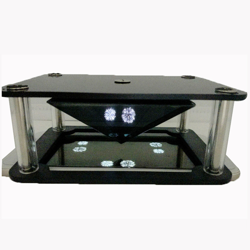 holographic pyramid 7-10 inch tablet 3d display box pyramid pyramid holographic 3d projection