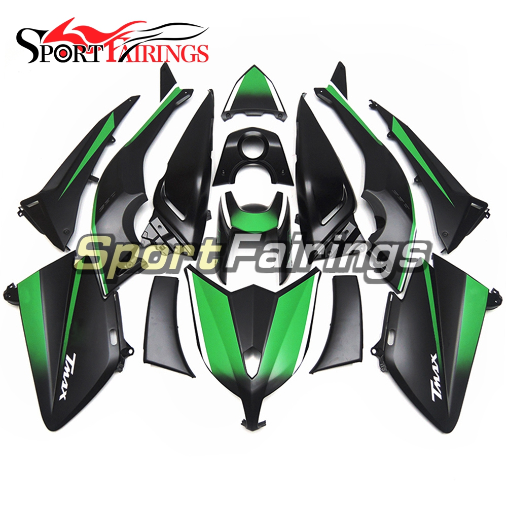 Injection Fairings For Yamaha TMAX T-MAX 530 12 13 14 ABS Plastic Complete Motorcycle Fairing Kit Green Black
